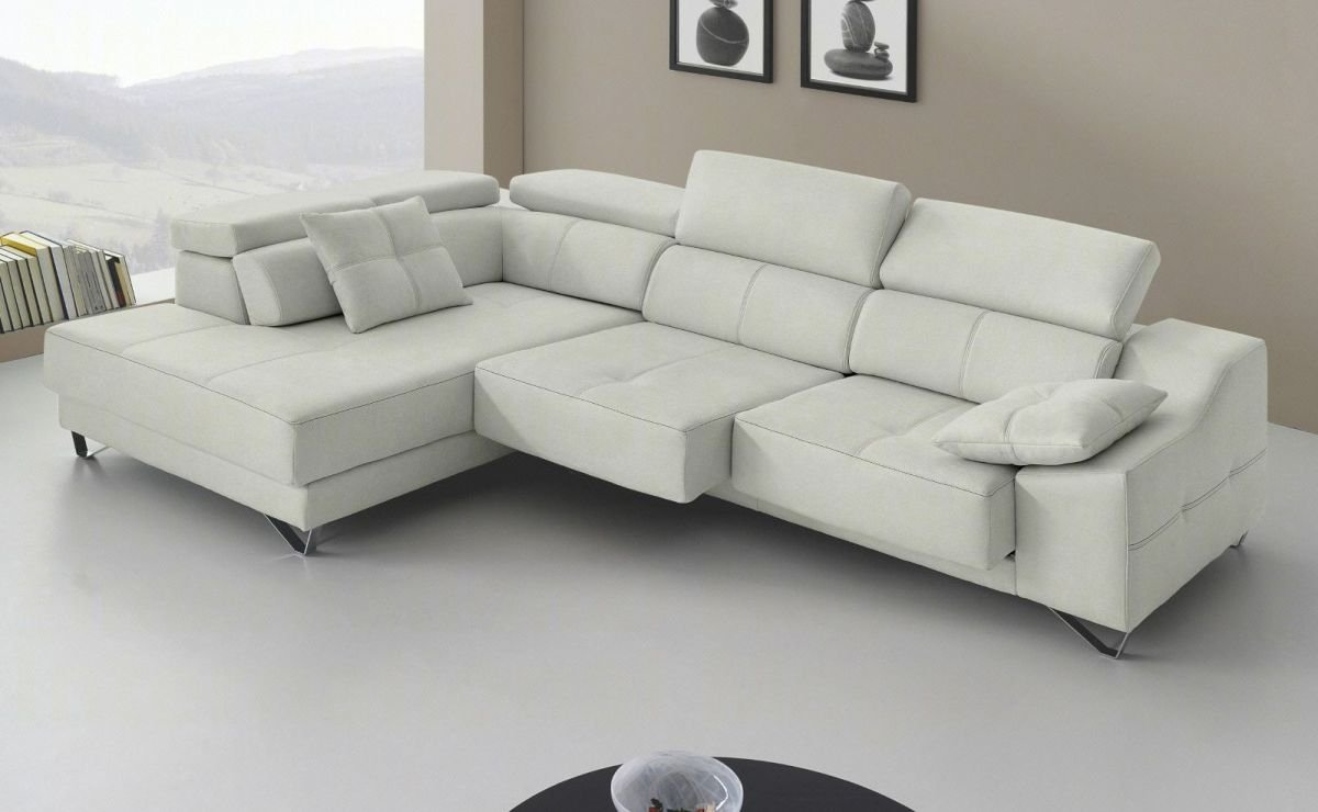 Chaise longue rinconera alta calidad im genes y fotos for Sofa piel chaise longue