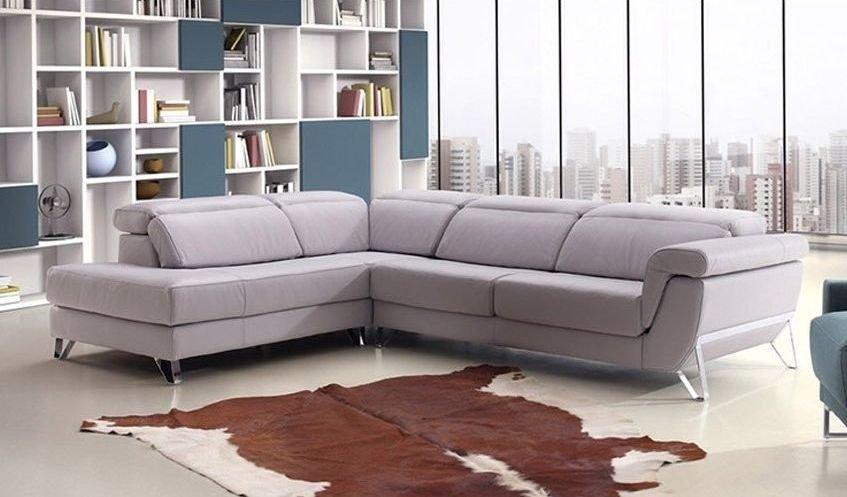 Sofá moderno relax de ángulo