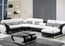 Sofá de ángulo de diseño