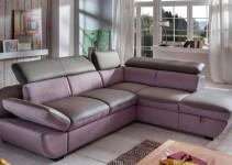 Sofá de ángulo cama
