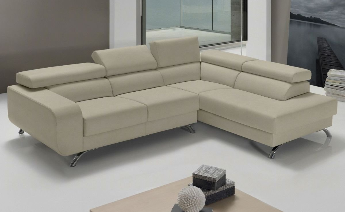Sof rinconera de piel chaise longue im genes y fotos for Sofa piel chaise longue