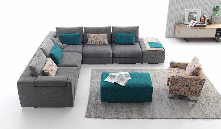 Sof s rinconeras de tela - Sofa rinconera moderno ...