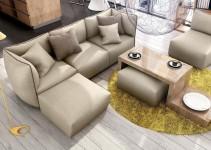 Sofá rinconera tapizado