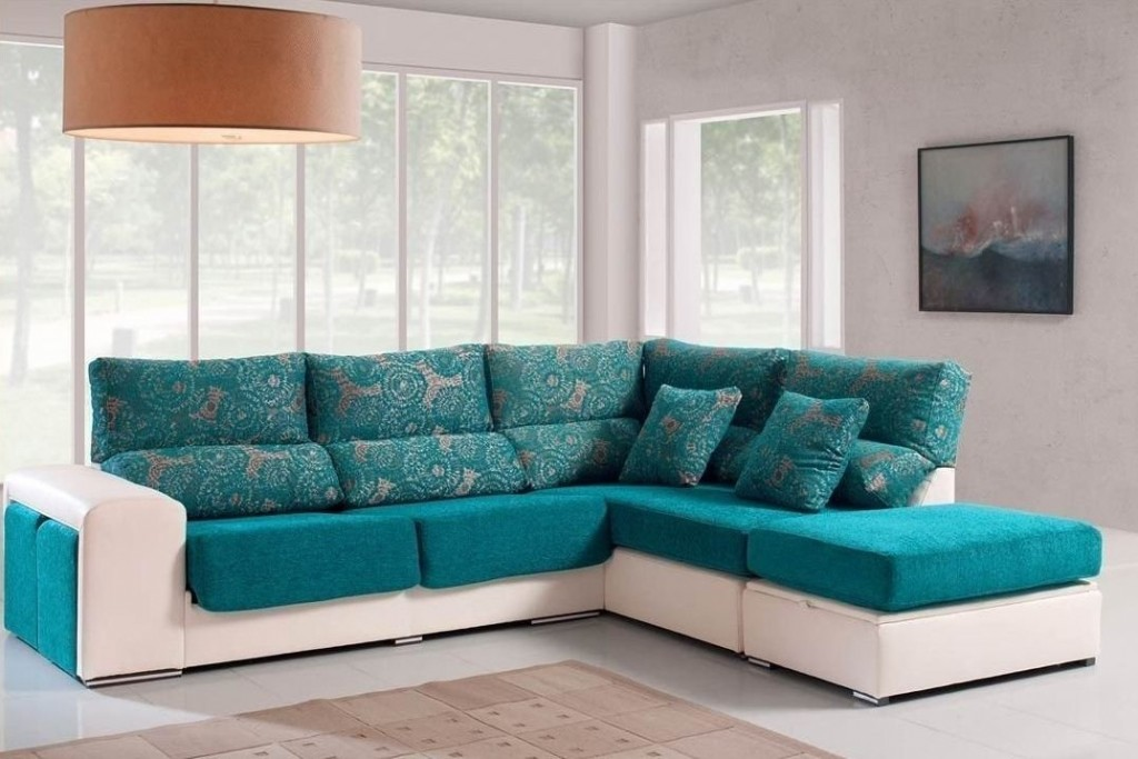 Sof rinconera tapizado con chaiselongue im genes y fotos - Como tapizar un sofa ...