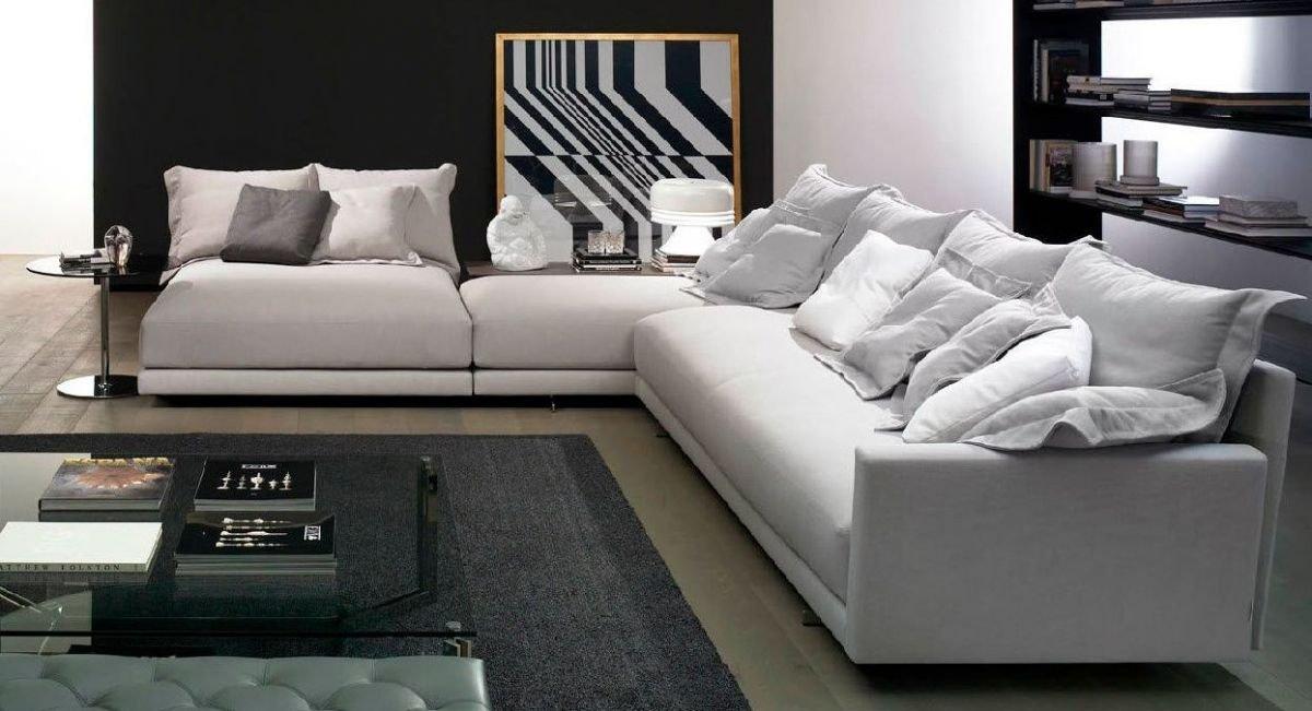 Sofá rinconero cama blanco