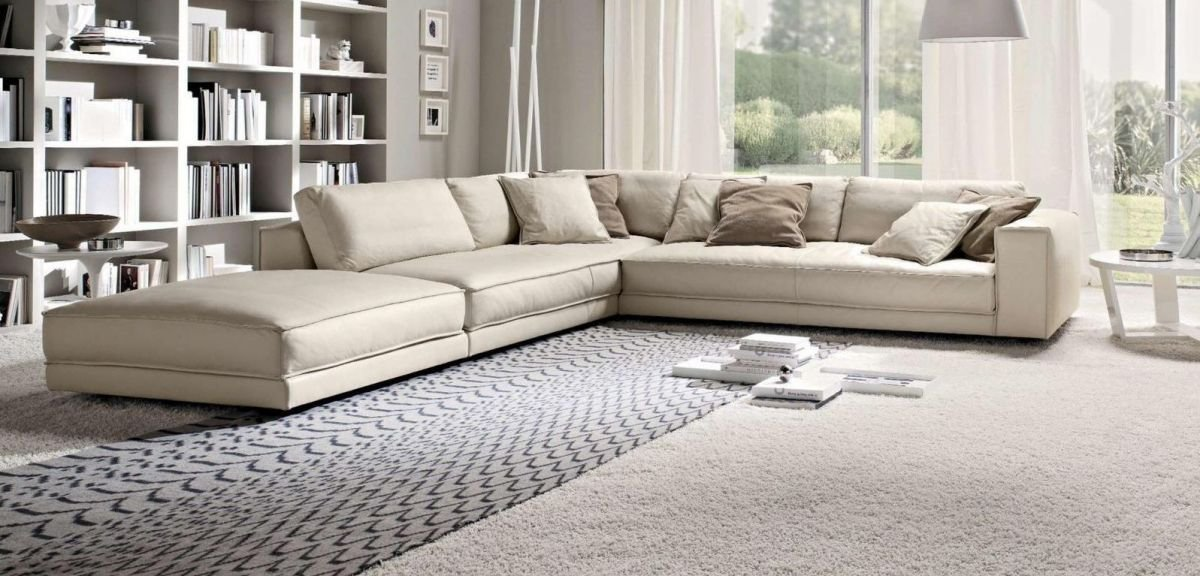 Sofá rinconera blanco con cama